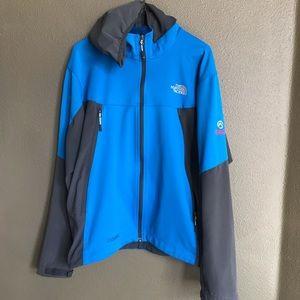 The North Face light Windstopper jacket size L
